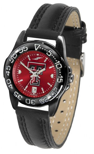 Texas Tech Red Raiders Ladies Fantom Bandit AnoChrome Watch