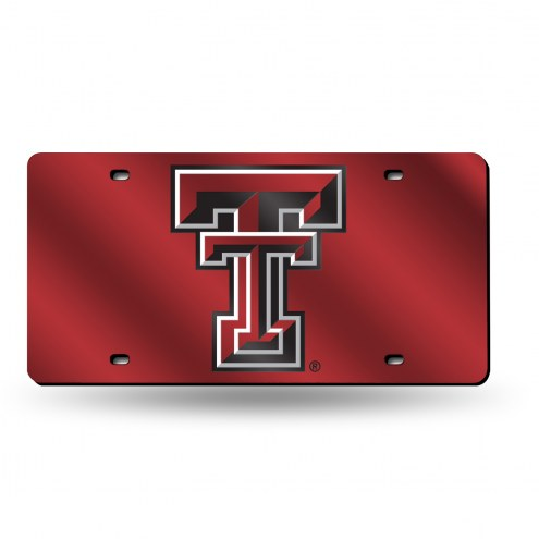 Texas Tech Red Raiders Laser Cut License Plate