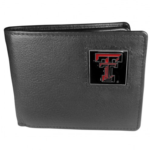Texas Tech Red Raiders Leather Bi-fold Wallet