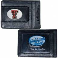 Texas Tech Red Raiders Leather Cash & Cardholder