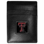 Texas Tech Red Raiders Leather Money Clip/Cardholder in Gift Box