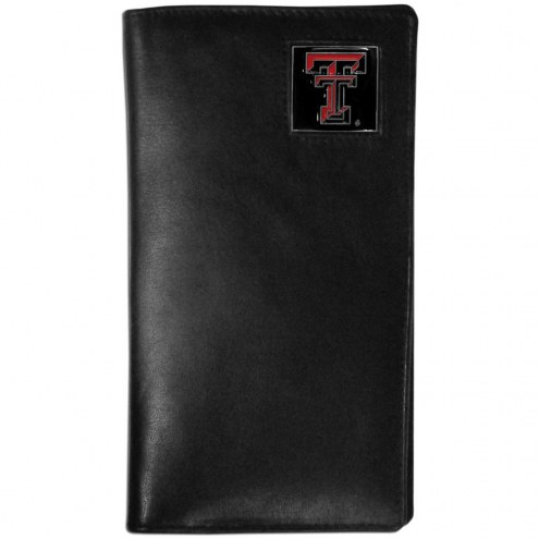 Texas Tech Red Raiders Leather Tall Wallet