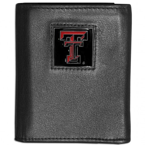 Texas Tech Red Raiders Leather Tri-fold Wallet