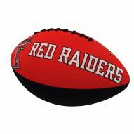 Texas Tech Red Raiders Logo Junior Rubber Football