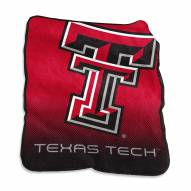 Texas Tech Red Raiders Raschel Throw Blanket