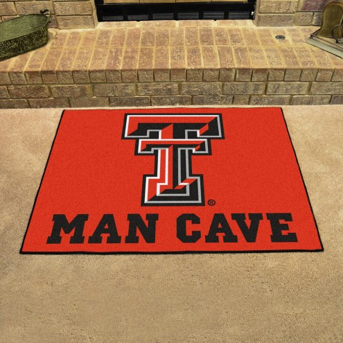 Texas Tech Red Raiders Man Cave All-Star Rug