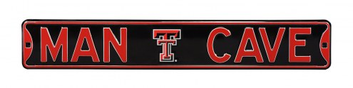 Texas Tech Red Raiders Man Cave Street Sign