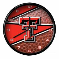 Texas Tech Red Raiders Football Clock