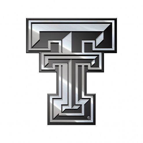 Texas Tech Red Raiders Metal Car Emblem