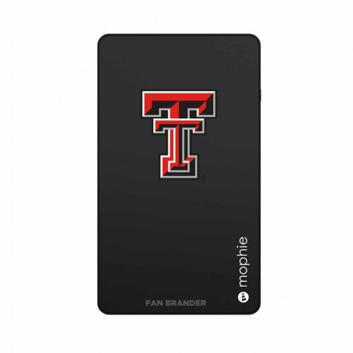 Texas Tech Red Raiders mophie Mini USB Power Station