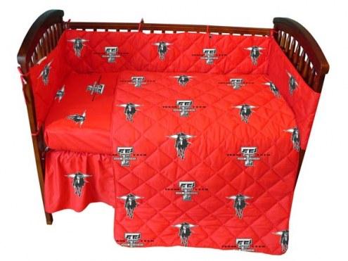 Texas Tech Red Raiders Baby Crib Set