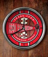 Texas Tech Red Raiders NCAA Chrome Wall Clock