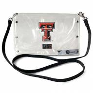 Texas Tech Red Raiders Clear Envelope Purse