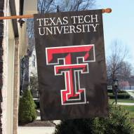 Texas Tech Red Raiders NCAA Applique 2-Sided Banner Flag