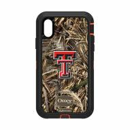 Texas Tech Red Raiders OtterBox iPhone XR Defender Realtree Camo Case