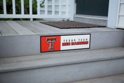 Texas Tech Red Raiders Outdoor Step Graphic