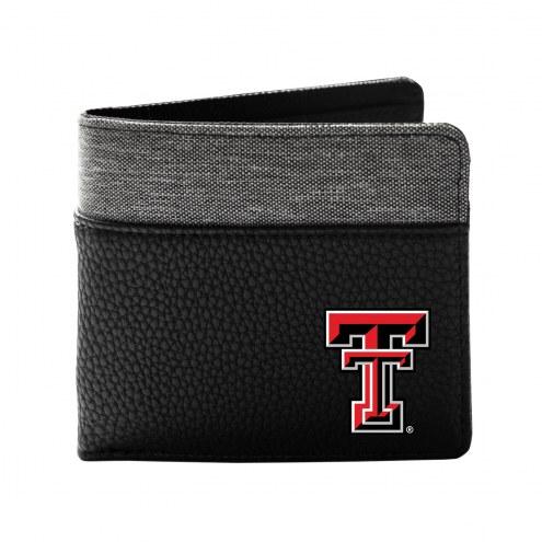 Texas Tech Red Raiders Pebble Bi-Fold Wallet