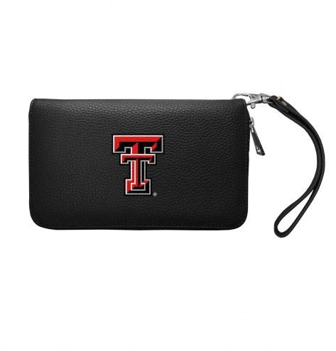 Texas Tech Red Raiders Pebble Organizer Wallet