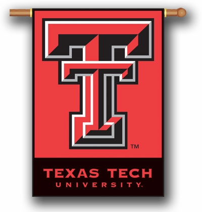 "Texas Tech Red Raiders Premium 28"" x 40"" Two-Sided Banner"