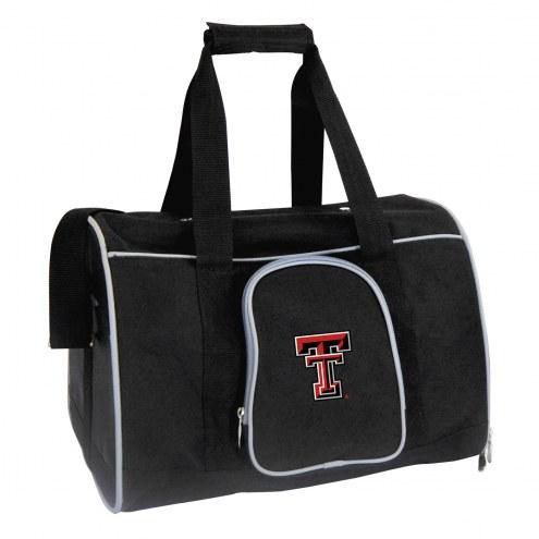 Texas Tech Red Raiders Premium Pet Carrier Bag