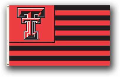 Texas Tech Red Raiders Premium Striped 3' x 5' Flag