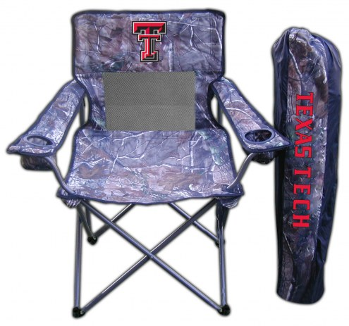 Texas Tech Red Raiders RealTree Camo Tailgating Chair