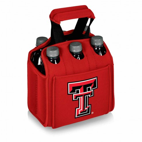 Texas Tech Red Raiders Red Six Pack Cooler Tote