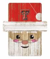 Texas Tech Red Raiders Santa Ornament