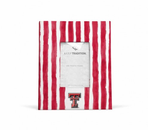 Texas Tech Red Raiders School Stripes Picture Frame