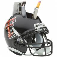 Texas Tech Red Raiders Schutt Football Helmet Desk Caddy