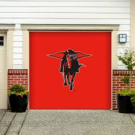 Texas Tech Red Raiders Single Garage Door Banner