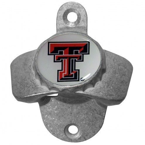 Texas Tech Red Raiders Wall Mounted Bottle Opener