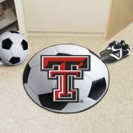 Texas Tech Red Raiders Soccer Ball Mat