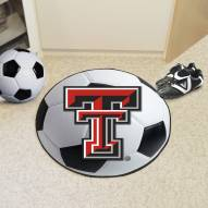 Texas Tech Red Raiders Soccer Ball Mat