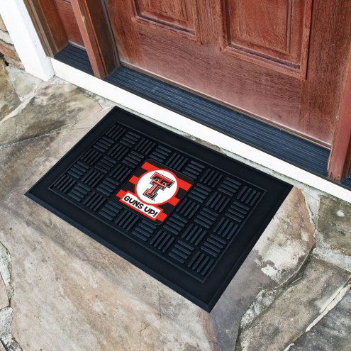 Texas Tech Red Raiders Southern Style Vinyl Door Mat