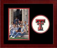 Texas Tech Red Raiders Spirit Vertical Photo Frame