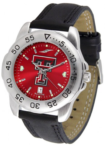 Texas Tech Red Raiders Sport AnoChrome Men's Watch