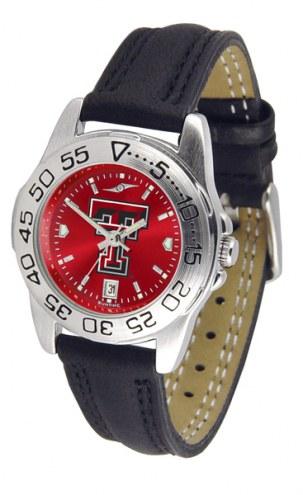 Texas Tech Red Raiders Sport AnoChrome Women's Watch