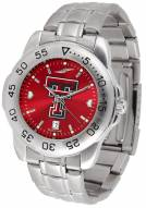Texas Tech Red Raiders Sport Steel AnoChrome Men's Watch