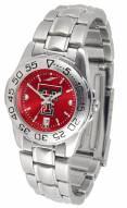Texas Tech Red Raiders Sport Steel AnoChrome Women's Watch