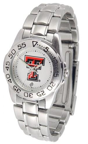 Texas Tech Red Raiders Sport Steel Women's Watch