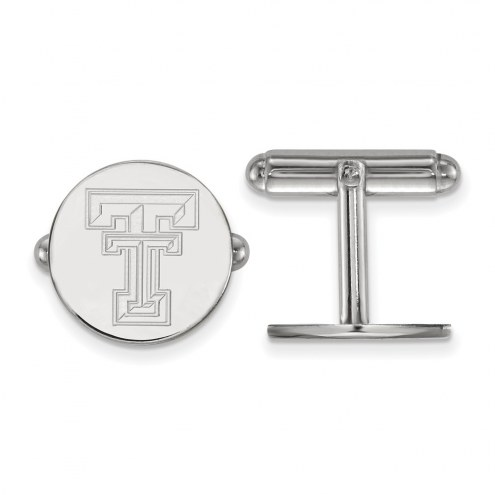 Texas Tech Red Raiders Sterling Silver Cuff Links