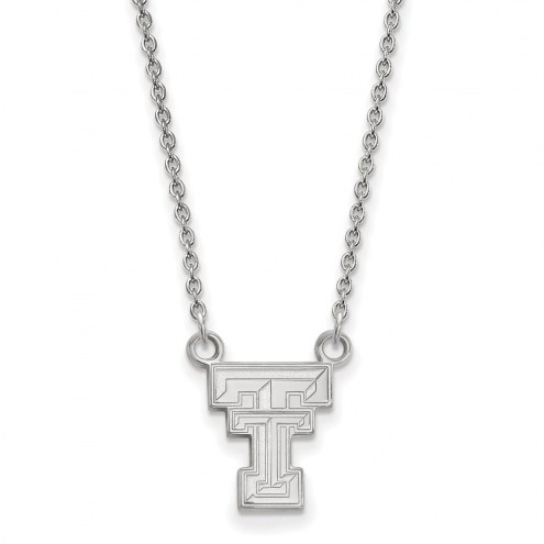 Texas Tech Red Raiders Sterling Silver Small Pendant Necklace