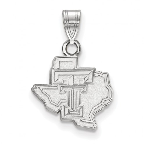 Texas Tech Red Raiders Sterling Silver Small Pendant
