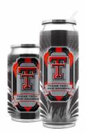 Texas Tech Red Raiders Stainless Steel Thermo Can