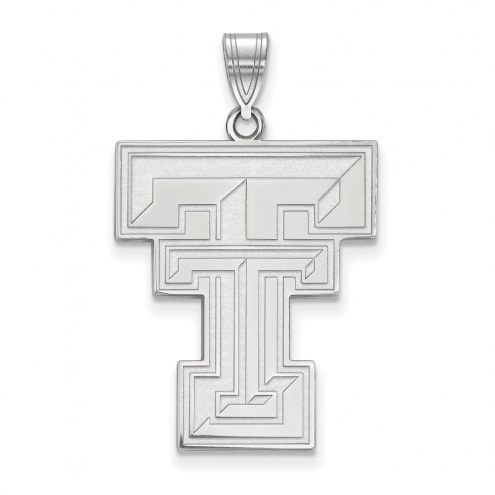 Texas Tech Red Raiders Sterling Silver Extra Large Pendant