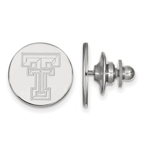 Texas Tech Red Raiders Sterling Silver Lapel Pin