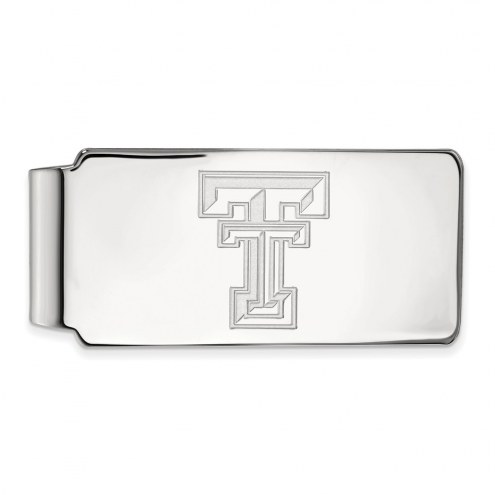 Texas Tech Red Raiders Sterling Silver Money Clip