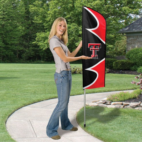 Texas Tech Red Raiders Swooper Flag