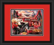 Texas Tech Red Raiders Tailgate Framed Print